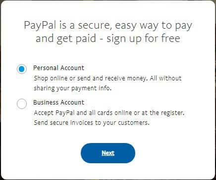 Hướng dẫn đăng ký tài khoản Paypal mới nhất