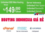 Hosting Unlimited SSD giá rẻ Server Indonesia