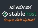 Hosting Stable Host Coupon – Giảm lên tới 70%, có coupon trọn đời