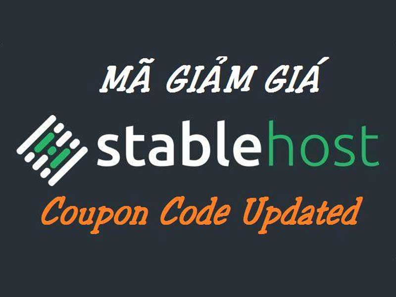 tổng hợp coupon hosting stable host